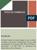 Tipos de Formatos