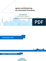 4. Usi Sukorini_Diagnosis and Monitoring of Cancer Associated Thrombosis
