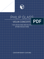 Glass - Violin Concerto [COVERS]