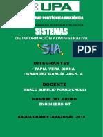 Sistemas de Información Administrativa(SIA)