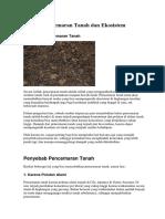Pencemaran Tanah dan Ekosistem.docx