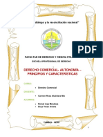 Autonomia , Caracteristicas , Principios , Grupo 2