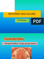 Restorasi Gigi Sulung.kbk