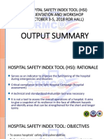 DRRM-H Report
