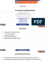Utemocw - Betm 3583 Vibration Analysis and Monitoring - Lecture 2 2 Edited