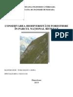 conservarea biodiversitatii in Parcul national Retezat