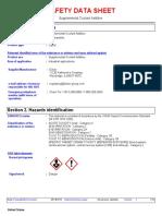 Cat Supplemental Coolant Additive (SCA)