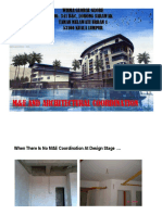 M&E & Arch Coordination