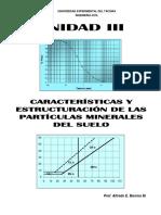 UNIDAD III, IV y V - ESTRUCT, PLASTICIDAD Y CLASIFICACIÓN DE SUELOS.pdf