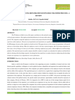 17. the Factors Influencing Repatriation Knowledge Transfer Process a Review-2019-03!14!10-18