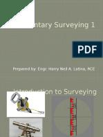 Elementary Surveying topic 1