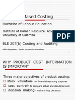 No.2 Activity Based Costing