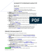 Antiemetic & Anti-nausea Agents Ch 51 and Antidiarrheals & Laxatives Ch 50.docx