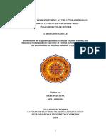 THE USE OF CODE-SWITCHING AT THE 12 th GRADE BAHASA  PROGRAM CLASS IN MA MAFATIHUL HUDA IN ACADEMIC YEAR 2017/2018