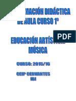 Programacion Musica Curso 1 2015-16