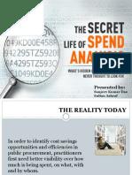 presentation on spend analysis