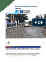 Ini Analisis BNPB soal Penyebab Banjir Bandang di Sentani.docx