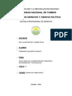 Facultades de la administración tributaria - Fiscalización y Determinacion.docx