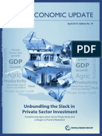 Kenya Economic Update Unbundling the Slack in Private Sector Investment Transforming Agriculture Sector Productivity and Linkages to Poverty Reduction