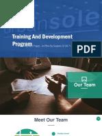 Training and Development Presentation