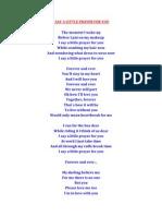 MY BEST FRIEND´S WEEDING SONG