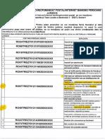 Lista Conturi IBAN Primaria Mun Buc
