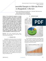 Assessment of Renewable Energies to Alleviate Power  Crisis in Bangladesh