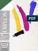 IV Certamen de Pintura Joven Salvadoreña Palmares Diplomat de Artes Plásticas