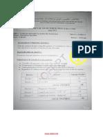 Examen de Fin de Formation 2013 Tsge Synthese 2