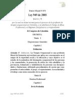 Ley 949 Terapia Ocupacional (1)