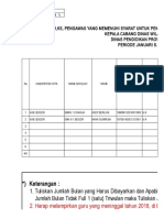 2. Format Verifikasi