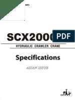 200Ton Crawler crane Hitachi Sumitomo SCX2000A-2.pdf