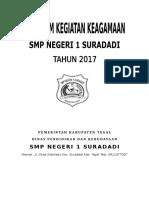 Program Keagamaan SMPN 1 Suradadi