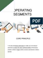 Operating Segments - Report