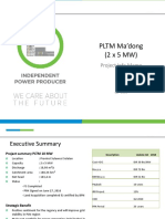 Feasibility Study PLTM Madong