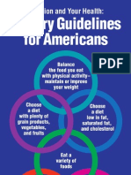 Dietary Guidelines for Americans 1995