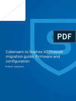 Cyberoam OS to Sophos Firewall OS Upgrade Guide