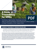 A Guide to Traceability for SMEs 2016