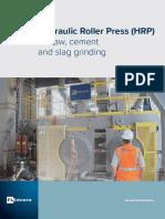 Hydraulic Roller Press Fram