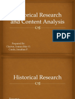 Historical Research and Content Analysis_1