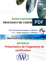 Procedure de Certification