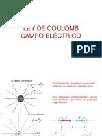Campo Electrico.ley de Coulomb