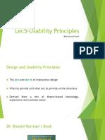 Lec5-UsabilityPrinciples