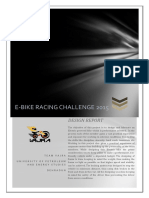 Ebike Design Report