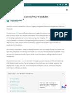 Hospital Management Software Modules
