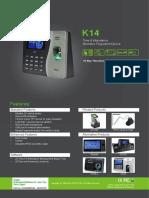 Zk k14 Manual
