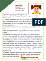 Description Denfant Malade Maladie de Myriam Production Madrassatii Com