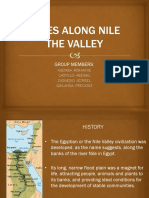 Cities along nile river