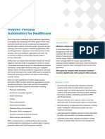So Robotic Process Automation for Healthcare En