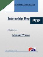 Mudasirwaqas Report